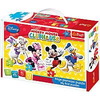 Пазлы для малышей «Baby Classic - Mickey Mouse Club House. Disney 36060 Trefl