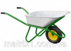 Тачка садово-строительная, усиленная, грузоподъемность 200 кг, объем 90 л PALISAD 689188