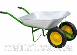 Тачка садовая, два колеса, грузоподъемность 170 кг, объем 78 л Palisad 689228