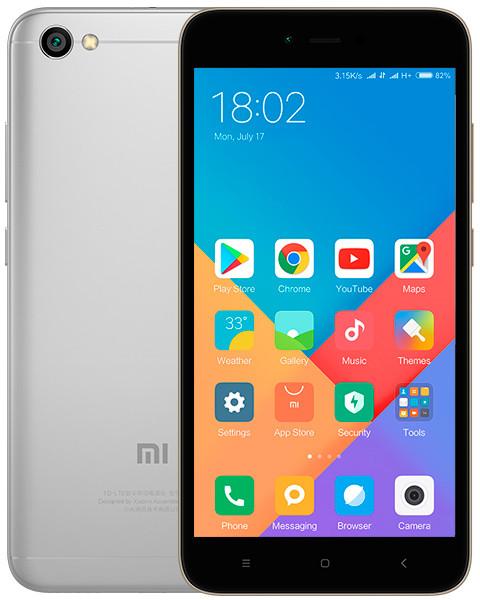 Смартфон Xiaomi Redmi Note 5A 2/16GB Темно-серый Global Version