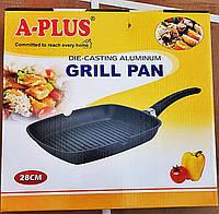 Сковорода-гриль A-PLUS 28 см