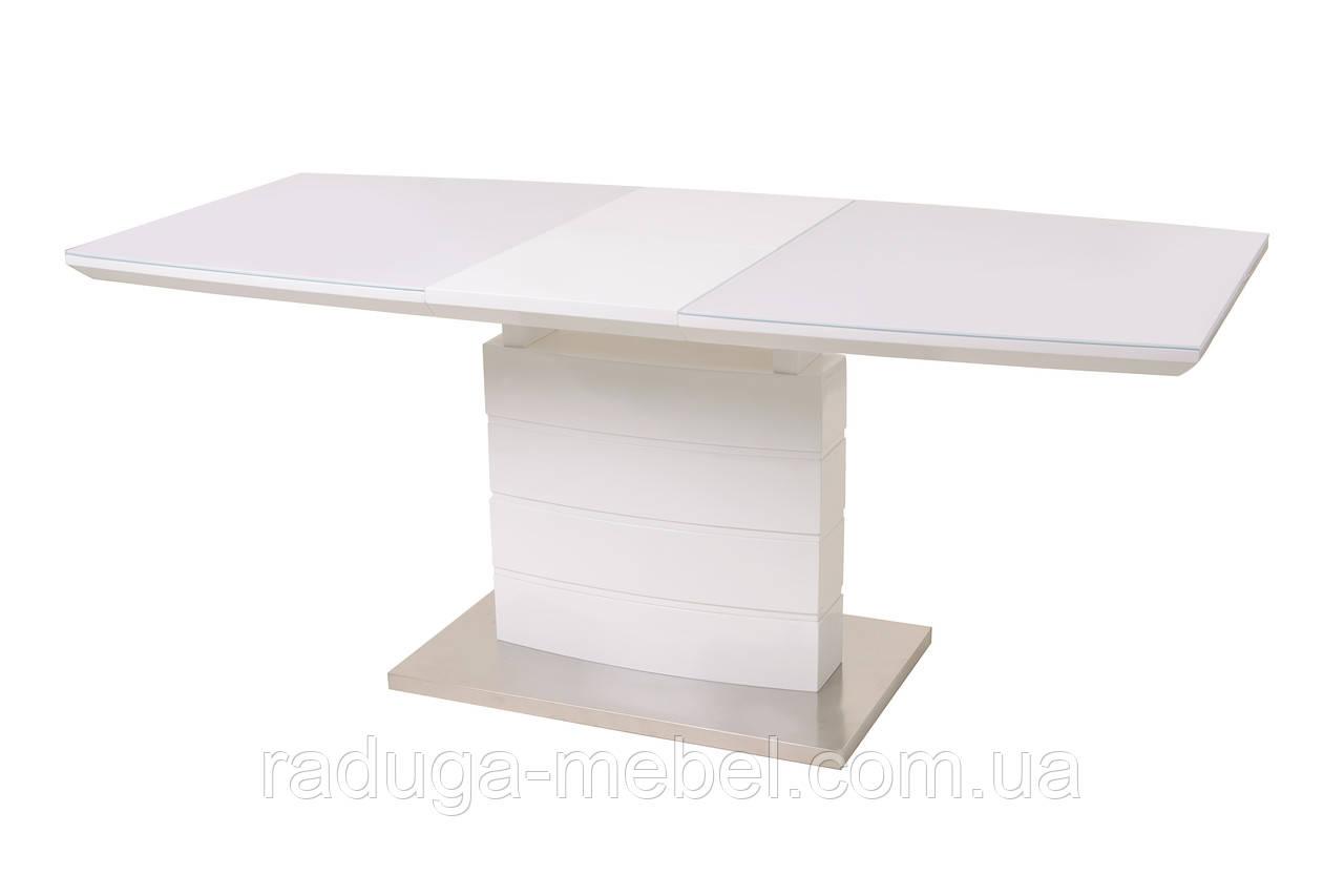 Стол кухонный обеденный белый TМ-50-1