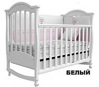 Кроватка детская с ящиком Верес «Соня ЛД-3 резьба»