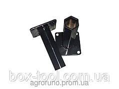 Полуоси (ступицы) шестигранные Ø 32 мм (150 мм)