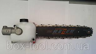Насадка высоторез на бензокосу на 9 шлицов 26 труба, фото 2