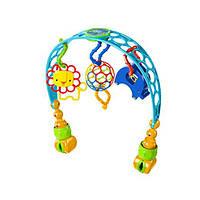 Развивающая дуга на коляску с игрушками от Bright Starts Oball