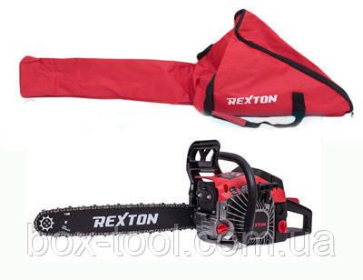 Бензопила REXTON БП 45-52 Металл + Сумка в Комплекте