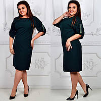 Женское платье батал креп 50-56, фото 1