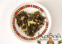 """Чай зеленый """"8 сокровищ Шаолиня / 8 treasures of Shaolin"""" премиум класса с белым чаем и добавками"""