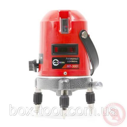 Уровень лазерный 2 головки INTERTOOL MT-3009, фото 2