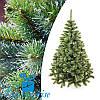Искусственная новогодняя елка ЛЕСНАЯ с белыми кончиками 250 см