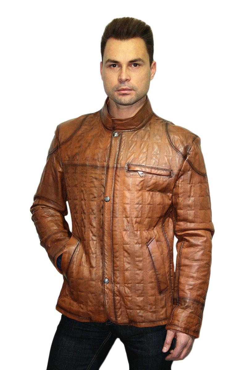 Куртка кожаная Oscar Fur 342 Рыжий