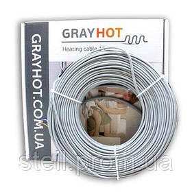 Gray Hot cable 15 (186 Вт); 1,0-1,3 м.кв.