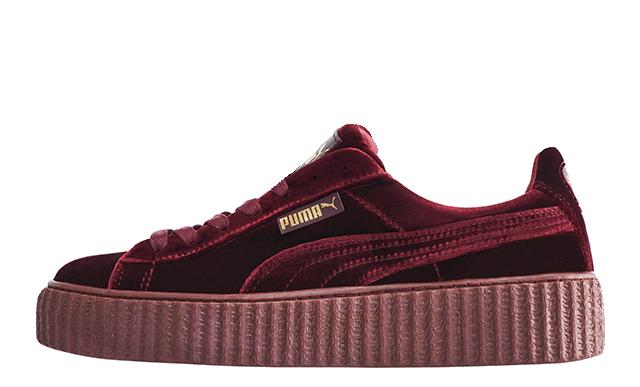 f961fea65d14 Женские кроссовки Puma X Fenty Rihanna Creepers Velvet - Интернет-магазин  обуви Parus Shop в