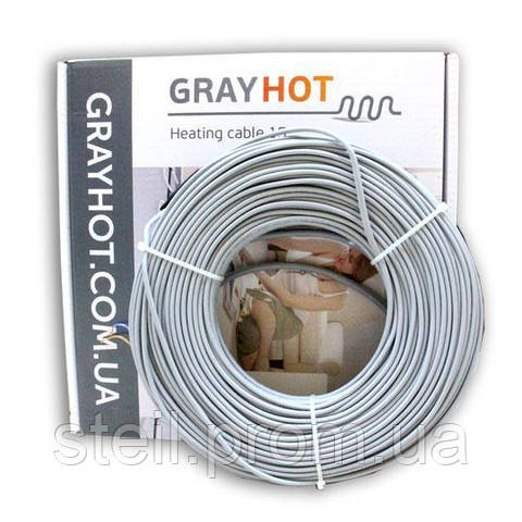 Gray Hot cable 15 (1929 Вт); 9,6-12,8 м.кв.
