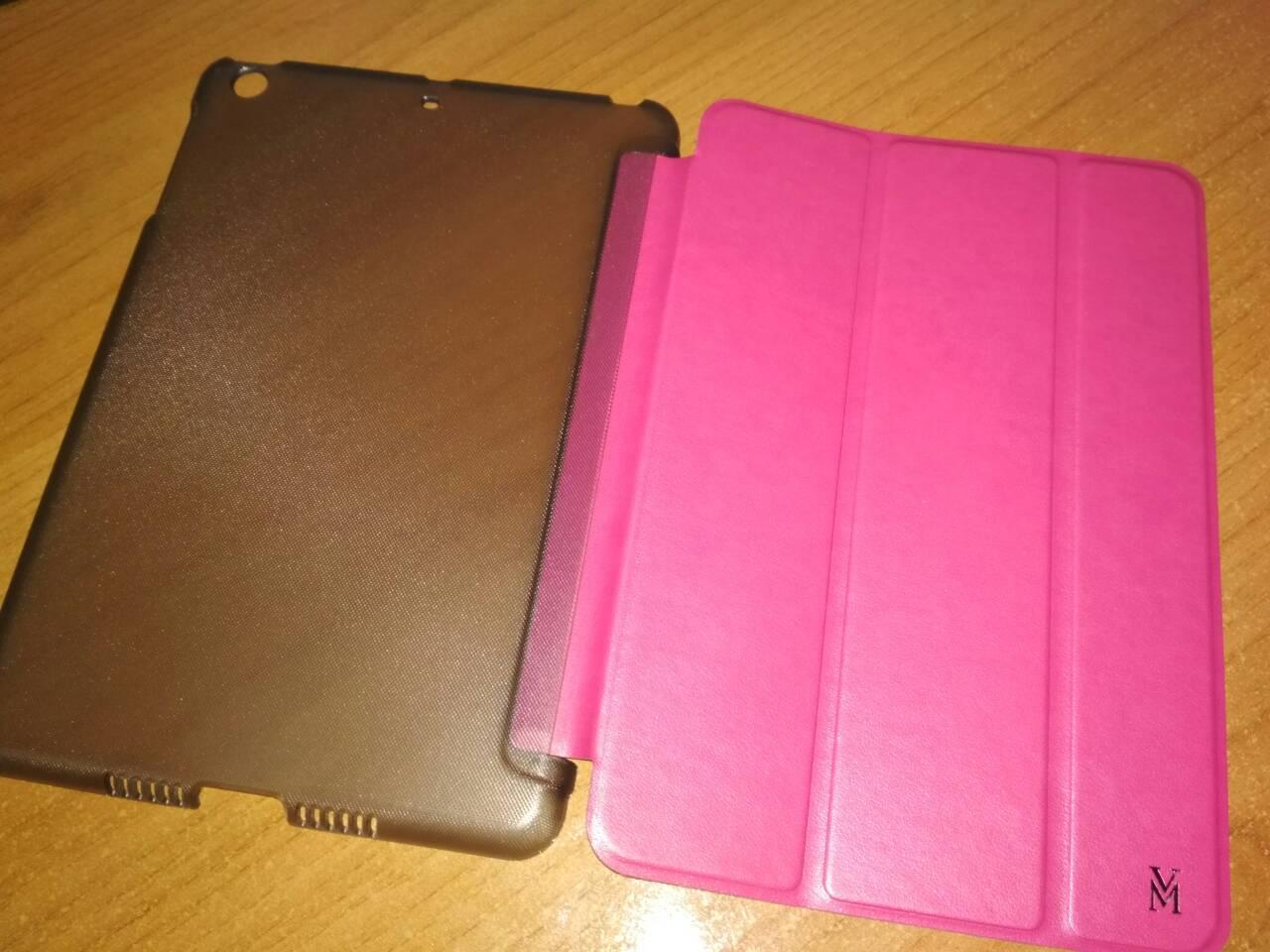 Чехол книжка iPad mini 1 2 3 4 Viva Madrid Estado розовый