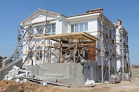 Фасадные наружные работы | Штукатурная отделка фасада и монтаж декора