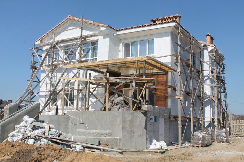 Фасадные наружные работы | Штукатурная отделка фасада и монтаж декора, фото 1