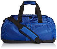 Сумка спортивная adidas 3 Stripe Small AB2343 (синяя, вентилируемый отсек для обуви, 38 литров, бренд адидас), фото 1