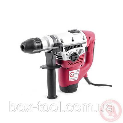 Перфоратор SDS-max 1050 Вт, 500 об/мин, 3500 удар/мин, 2 режима, кейс, аксессуары INTERTOOL DT-0195, фото 2