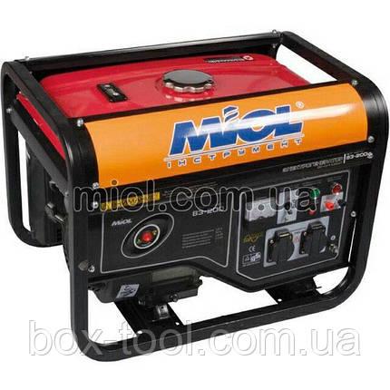 Генератор бензиновый Miol [83-250}, фото 2