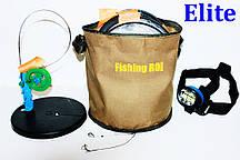 Щуколовка - жерлица (оснащенные 10 шт.) Fishing ROI + фонарик