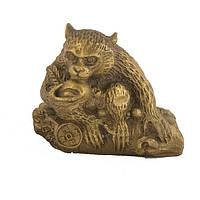 Статуэтка Обезьяна восточный гороскоп 5х5,5 см желтая (1092)