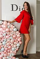 Платье Порше ВПП 0502 красный, фото 1