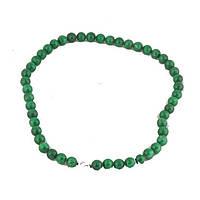 Четки из нефрита 30 см. зеленые (1210)