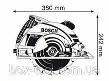 Ручная циркулярная пила Bosch GKS 190 Professional, фото 3