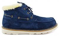 Мужские ботинки UGG Australia David Beckham 5877 Navy (угги Девид Бекхем) синие