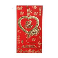 Конверт для денег плотный 20х12 см. красный (А5036)