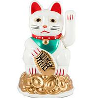 Кошка манеки неко 11 см Белая (А3996)