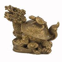 Драконочерепаха с маленькой черепашкой на спине