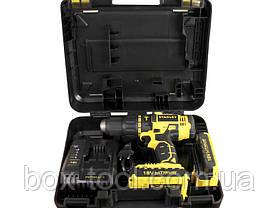 Шуруповерт аккумуляторный Stanley SCH201D2K, фото 3
