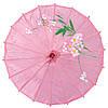 Зонт декоративный 38х55 см розовый (5906)