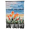 "Гобелен ""Тюльпаны на морском берегу"" 95х66 см разноцветный (А9733)"