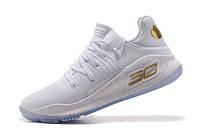Баскетбольные кроссовки Under Armour Curry 4 Low white