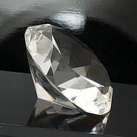 Граненый кристалл диаметр 5 см бесцветный (А8197)