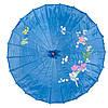 Зонт декоративный 38х55 см синий (5910а)