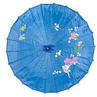 Зонт декоративный 38х55 см синий (5910а), фото 1