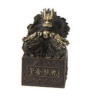 Трехголовый дракон с жемчужиной