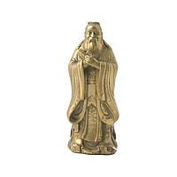 Статуэтка Лу Син высота 9,5 см. желтая (4184)