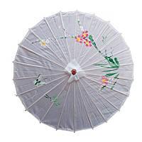 Зонт декоративный 50х82 см белый (В1570)