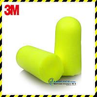 Беруші 3M E-A-Rsoft Yellow Neons - 37 SNR ОПТ. США, фото 1