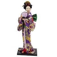 Кукла нинге японка высота 30 см разноцветная (В4469)