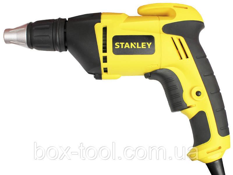 Cетевой шуруповерт по гипсокартону Stanley STDR5206