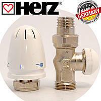 Термостатические  и ручные радиаторные клапаны, узлы нижнего подключения
