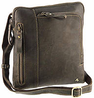 Мужская кожаная сумка на плечо Visconti 15056 - Roy