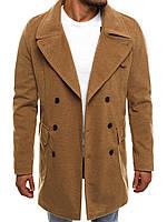 Кашемировое пальто коричневый 044, фото 1